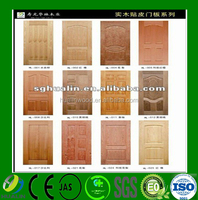 Best Price Moulded Molded Melamine HDF Door Skin for Pakistan