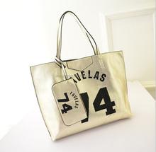2015 European and American big new portable shoulder bag ladies handbags