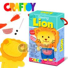 Easy sewing kit Animal stitching Sewing Lion