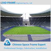 Large Span Steel Frame Construction Structure Football Stadium
