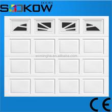 folding up garage door with polyurethane foam/garage door prices