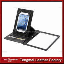 Business Notepad and Tablet Portfolio Carry Case with Handles for Apple iPad, iPad Air