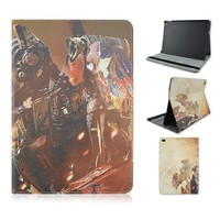 Transformers PU Leather Stand Back Flip Case Cover For iPad air 2