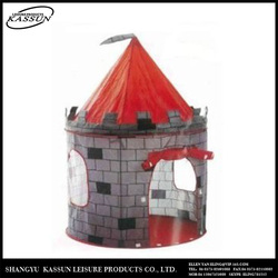 Popular carton promotional custom printed kids play tent sale