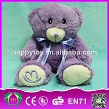 Hi ce mejor calidad baratos divertido juguetes de peluche personalizados, oso de peluche de juguete para la venta
