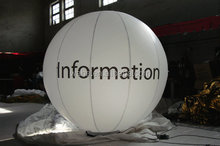 Advertising Inflatable ground Ballon / Inflatable led balloon