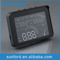 Projector OBD II bluetooth head-up indicator speedometer digital for cars