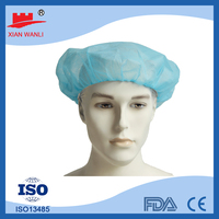 medical surgical hat bouffant cap disposable surgical caps colorful
