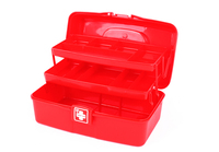 Durable Three Layers Plastic Empty Waterproof First Aid Box Manufacturer