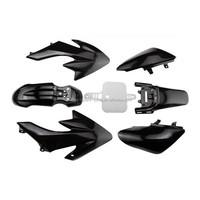 CRF50 Plastic Body Fairing Kit for BLACK 50cc 70cc 90cc Atomik Thumpstar Pitpro