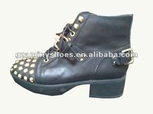 Studded women shoes