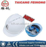 CE Approved V-guard safety helmet for industrial/ mining/construction workers, electrical safety helmet