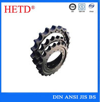 OEM China Professional manufacturer type A chain plate wheel hardened tooth sprockets