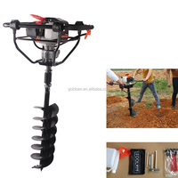 71cc 2400w Hand-Held Manual Fence Post Hole Digger Portable Hand Ground Earth Drilling Machine