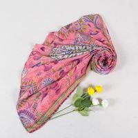 Summer in Europe and America voile printed shawl scarf wholesale elephant cashew flower heatstroke artifact hangzhou lin an fact