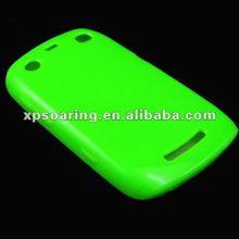 rubber skin case back cover for blackberry 9360
