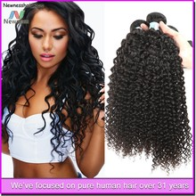 natural color kinky curly hair design product wholesale virgin brazilian hair