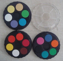 Circular 6color 2.3 watercolor/Watercolor solid powdery cake