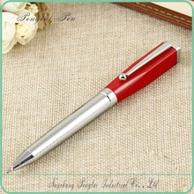 2015 high quality name branded fashion Designed best black square ball pen