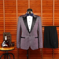 2015 new design blazer/blazer jacket winter coat for man