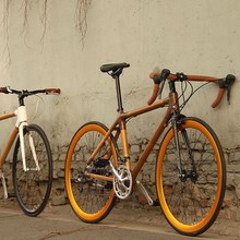 2015 OEM offered new style 26 inch 21speed beach cruiser bicycle/ fat bike with bamboo frame and disc brake