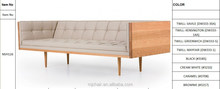 White Ash Soild Wooden Living Room Autoban Box Sofa