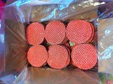 Halal Steak Hache Gaufre ( 100% Beef Burger)
