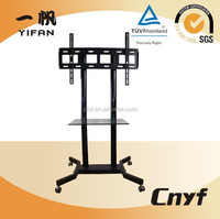 fashionalble tempered glass tv trolley