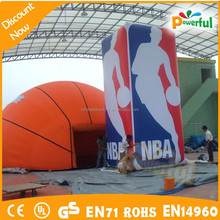 2015 new style giant basketball model,inflatable basketball tent,advertising products model