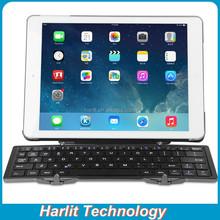 Triple Folding Universal Bluetooth Keyboard, Mini Portable Bluetooth Keyboard With Stand