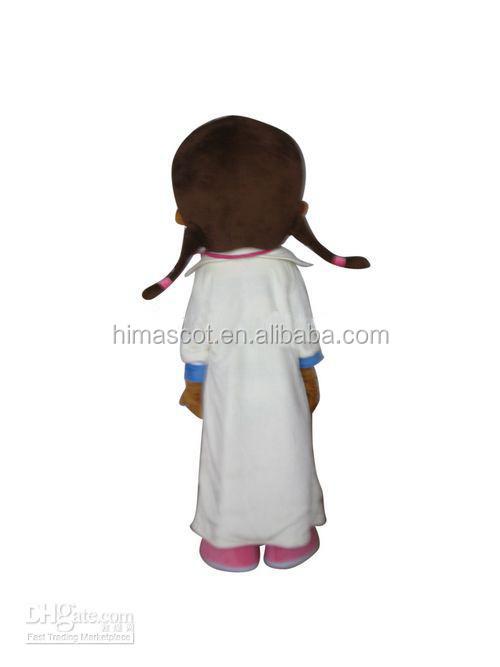 oi ce alta qualidade feliz adulto doc mcstuffins mascote