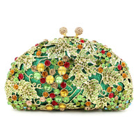 Top quality original manufacturer crystal fashion women bag with factory price