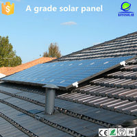 2015 New 200W polycrystalline PV solar panel with lower price solar panel system