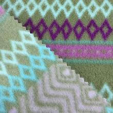 Home textile fabric printed Polar Fleece for Bed Sheet