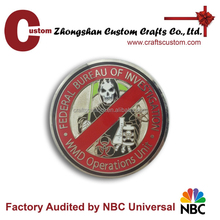 military challenge collectible metal coin