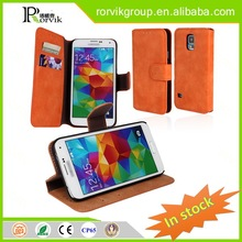 wholesale tpu blank phone case leather with great price for Samsung S5