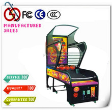 2015 New Coin Operated electronic basketball scoring machine street basketball machines