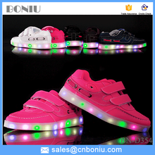 kids & children night light fashion skate shoes led light up sneaker shoes