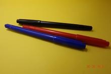 6 pks alcohol based double tips fine liner marker pen