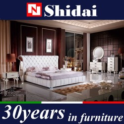 Luxury Bedroom Furniture Set, European Style King size Bedroom furniture Prices B9024