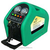Refrigerant charging machine, AC machine, AC service station