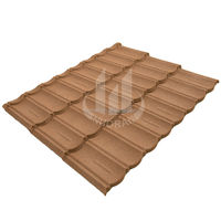 Sand Coated Metal Roofing Tiles Lowgles Roof Tile for house use