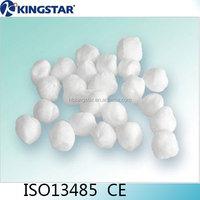 High quality medical round gauze swab alcohol cotton ball