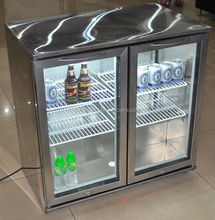 228 L desktop beverage chiller, soft drink cooler