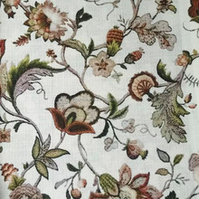 Linen&Cotten Mix Digital Printing Fabric Hot Design For Curtain/Sofa, Upholstery Furniture Blind . Free Samples Available