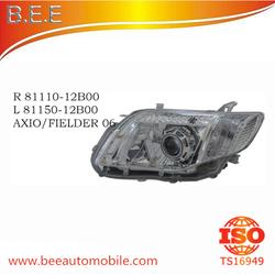 TOYOTA AXIO/FIELDER 06 HEAD LAMP R 81110-12B00 L 81150-12B00