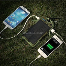 Solar mobile phone charger case 12000mah