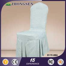 Hot sale fashion very light pink taffeta chair cover sash