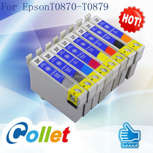 Best selling New ink cartridge for Epson T0870/T0871/T0872/T0873/T0874/T0875/T0876/T0877/T0878/T0879 USED R1900