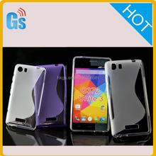 Online Shopping Black Tpu Silicon Gel S Line Case For Micromax Q372 Unite 3